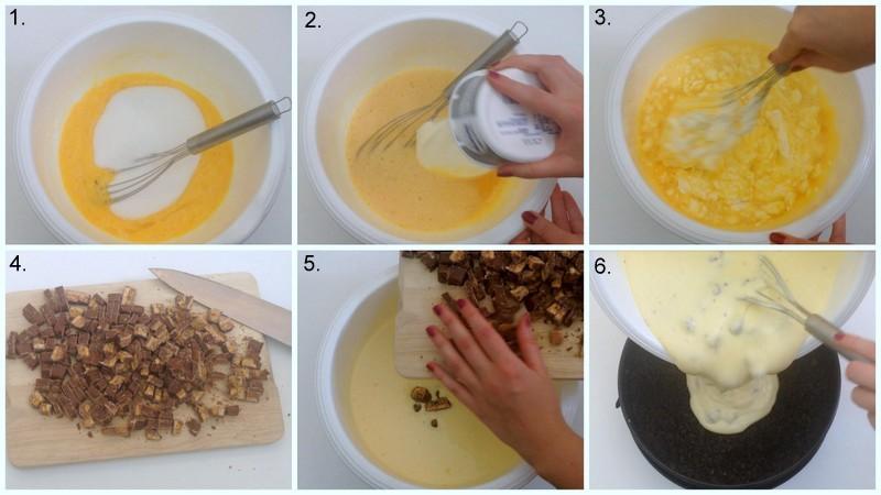 Käsekuchen-Füllung zubereiten