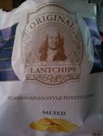 Original Lantchips Salted Organic 100 g