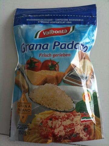 Valbonta Grana Padano frisch gerieben 150 g