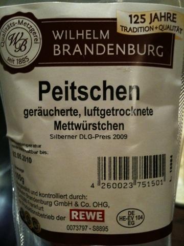 W.Brandenburg Peitschen (Classic)