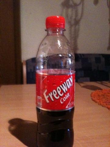 Freeway Cola 0,5 l PET