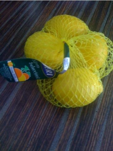 Aranda Spanische Zitronen Primofiori 4 Stück