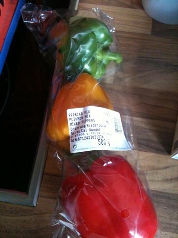 Gemüse Paprika Mix 500 g