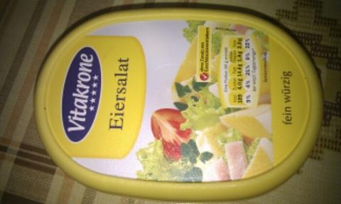 Vitakrone Eiersalat mit Vorderschinken 250g