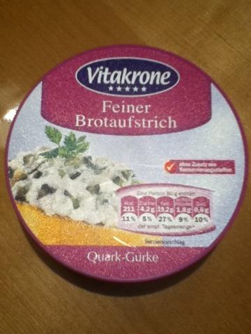 Vitakrone Quark & Gurke Brotaufstrich 150g