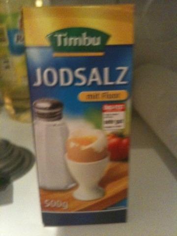 Timbu Jodsalz mit Fluorid 500 g