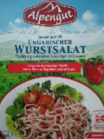Alpengut Ungarischer Wurstsalat