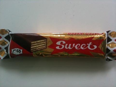 Sweet Gaufrette enrobée