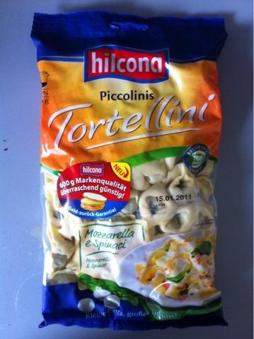 Hilcona Piccolinis Tortellini Mozzarella e Spinaci 600g