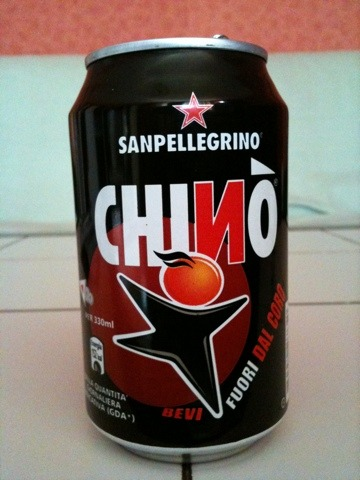 San Pellegrino Chino Chinotto 0,33 l Dose