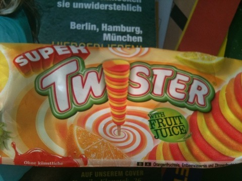 Super Twister Eis