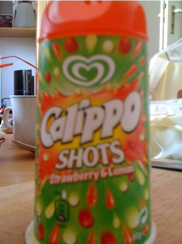 Langnese Calippo Shots Strawberry & Lemon