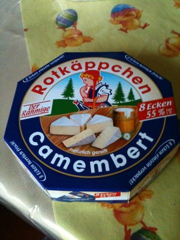 "Rotkäppchen Camembert ""Der Rahmige"", 8Ecken"