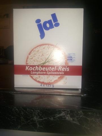 ja! Kochbeutel-Reis Langkorn-Spitzenreis 500 g