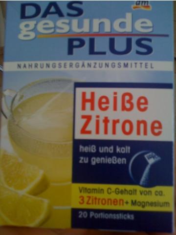 Das gesunde Plus Heiße Zitrone