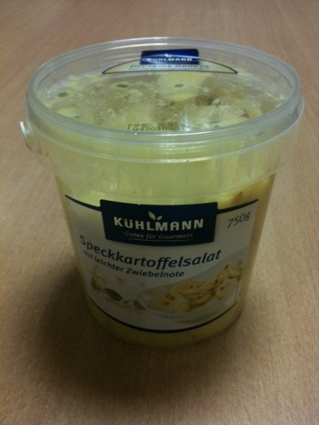 Kühlmann - Speckkartoffelsalat 750g
