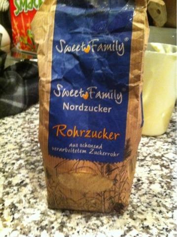Sweet Family Nordzucker Rohrzucker 1000 g
