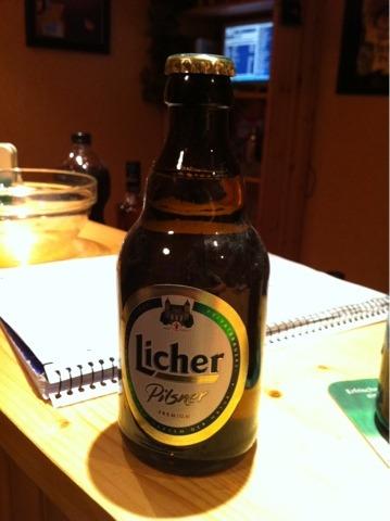 Licher Pilsner 0,33 l Steinie