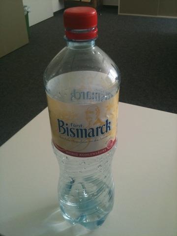 Fürst Bismarck Mineralwasser m. wenig Kohlensäure 1l