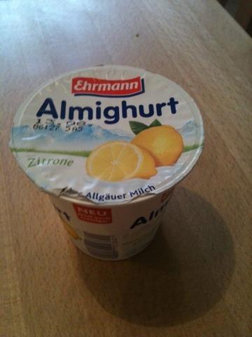 Ehrmann Almighurt Zitrone 150 g