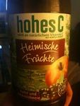 Hohes C Heimische Früchte Apfel und Johannisbeere 1,0 l PET