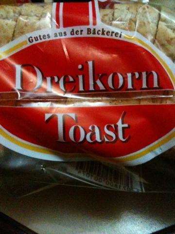 Gutes aus der Bäckerei Dreikorn Toast 500 g