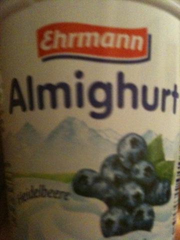 Ehrmann Almighurt Heidelbeere 150 g
