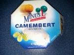 MinusL Camembert 45% 125g
