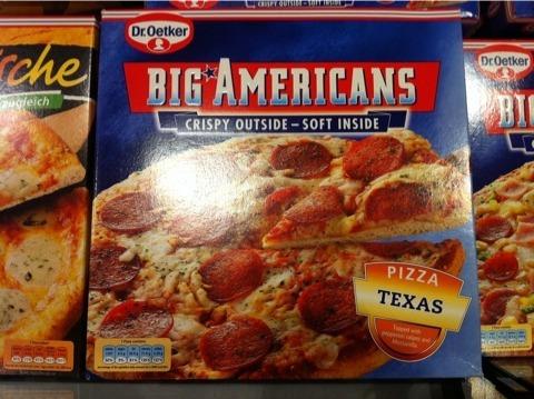 Dr. Oetker Big Americans Texas 435 g