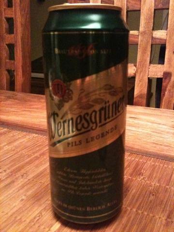Wernesgrüner Pils Legende 0,5 l Dose