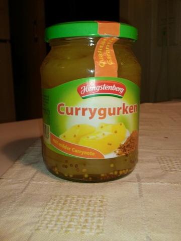 Hengstenberg Currygurken 370 ml