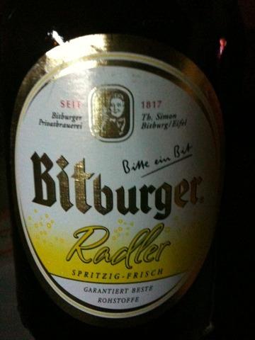 Bitburger Radler 0,33 l Steinie