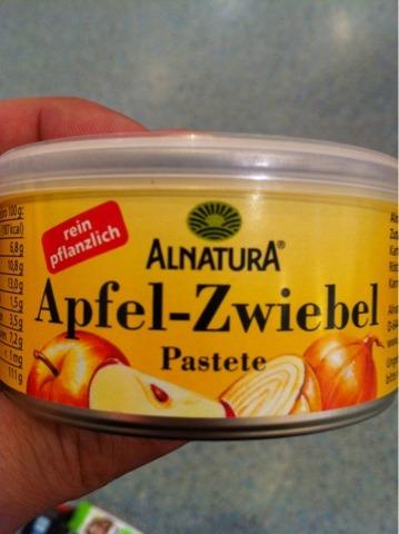 Alnatura Apfel-Zwiebel Paste 125g