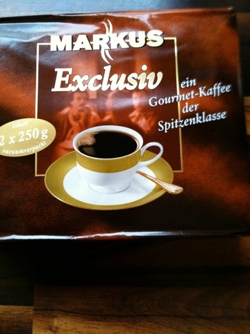 Markus Markus Kaffee Hochland Exclusiv filterfein gemahlen