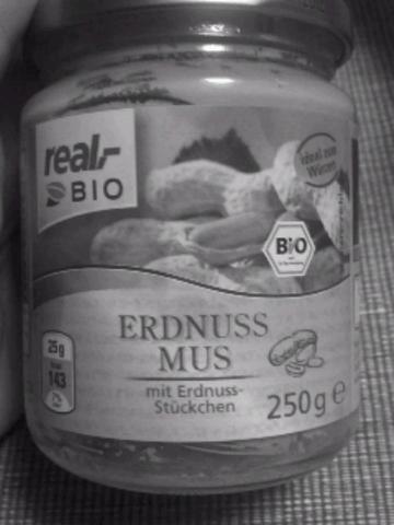 Real Bio Erdnussmus 250 g