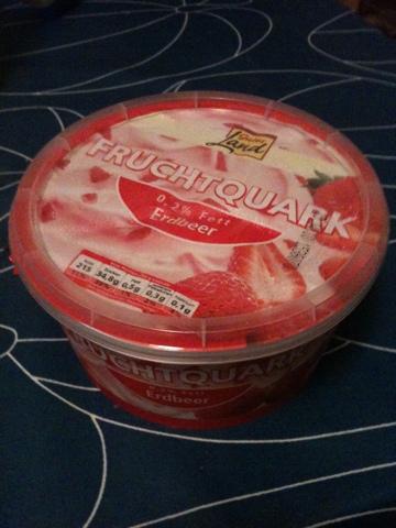 Gutes Land Fruchtquark Erdbeer 500 g