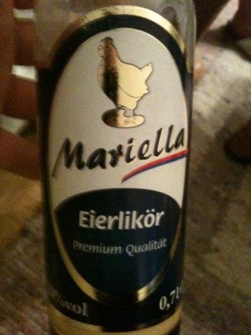 Mariella Eierlikör 20%vol 0,7 l