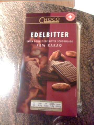 Choco Edition Edelbitter Extra dunkle Edelbitter Schokolade 125 g