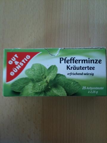 Gut & Günstig Pfefferminze Kräutertee