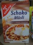 G&G Schoko Müsli 750g