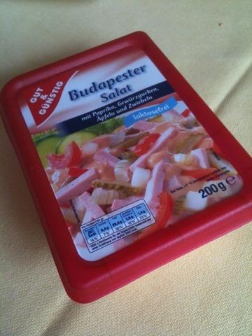 Gut & Günstig Budapester Salat