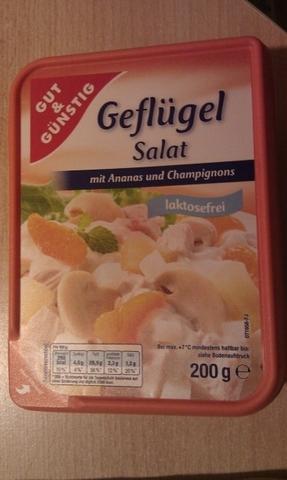Gut & Günstig Geflügel Salat 200g