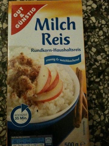 Gut & Günstig Milch Reis