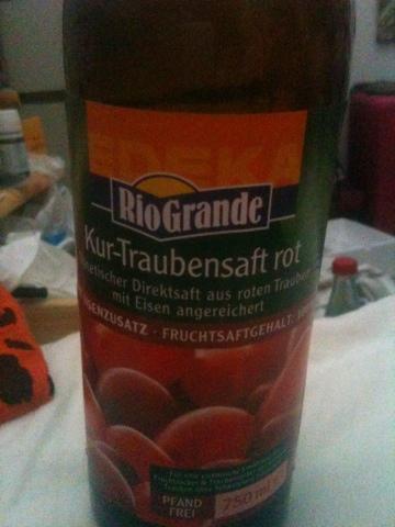 Rio Grande Kur - Traubensaft Rot