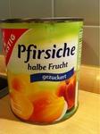 Gut & Günstig Pfirsiche