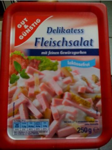 Gut & Günstig Delikatess Fleischsalat
