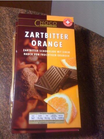 Choco Edition Zartbitter Orange 125 g