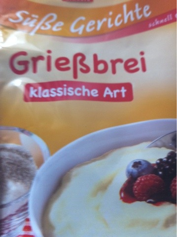 K Classic Süße Gerichte Grießbrei klassische Art