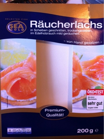 Sea Gold Räucherlachs 200 g
