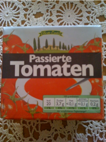 Beste Ernte Passierte Tomaten